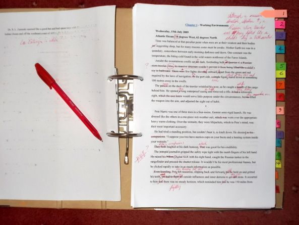 The Red Pen is mightier ...