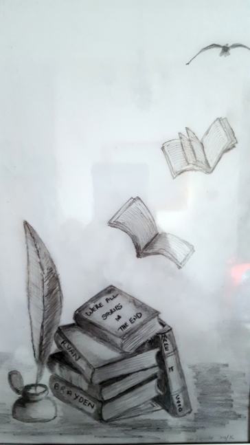 books-sketch